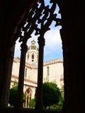 Monestir de Santes Creus, Aiguamurcia (España) Fotografía de archivo