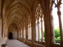 Monestir de Santes Creus, Aiguamurcia (España) Fotos de archivo