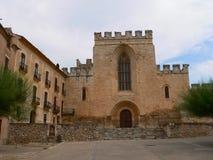 Monestir de Santes Creus, Aiguamurcia ( Spain ) Royalty Free Stock Photo