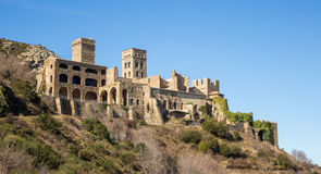 Monestir Sant Pere De Rodes obrazy royalty free