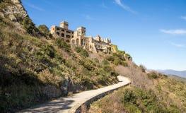 Monestir Sant Pere de Rodes Royalty Free Stock Images
