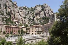 Monestir Santa Maria de Монтсеррат стоковые фото
