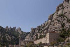 Monestir Santa Maria de Монтсеррат стоковая фотография