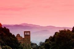 Monestir Santa Maria de Montserrat Foto de archivo libre de regalías