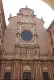 Monestir Santa Maria de Montserrat Immagine Stock