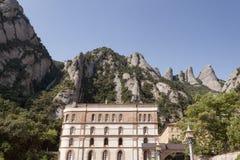 Monestir Santa Maria de Montserrat Immagini Stock Libere da Diritti