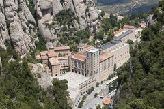 Monestir Santa Maria de Montserrat Royalty Free Stock Photography