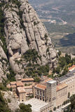 Monestir Santa Maria de Montserrat Stock Photos