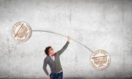 Monetärt begrepp Arkivfoton