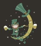monet dzień złota zieleni kapeluszowy ilustracyjny Patrick garnka s shamrock st Zdjęcia Royalty Free
