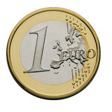 monet euro 1 Obrazy Royalty Free