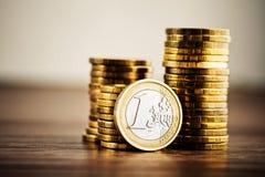 monet euro 1 Zdjęcie Royalty Free