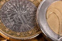 monet euro 2 Zdjęcie Royalty Free