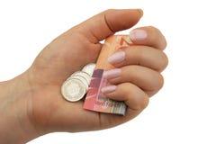 monet franka notatki szwajcar Fotografia Royalty Free
