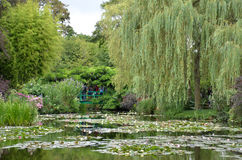 Monet garden, Giverny, France Royalty Free Stock Images