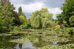 Monet garden, Giverny, France Royalty Free Stock Image