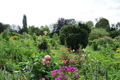 Сад Monet в Giverny Стоковые Фото