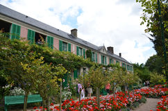 Monet house and garden, Giverny, France Stock Photo