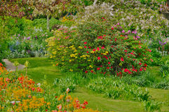 Monet house in Giverny in Normandie Royalty Free Stock Images