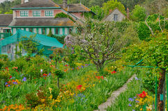 Monet house in Giverny in Normandie Stock Photography