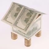 monet kosztów dolarów dom Fotografia Royalty Free