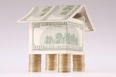 monet kosztów dolarów dom Obraz Stock