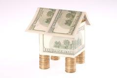 monet kosztów dolarów dom Obraz Royalty Free