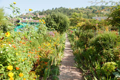 Monet's garden in Giverny Royalty Free Stock Photo