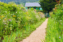 Monet's Garden and House, Giverny Stock Photo