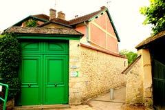 Monet's Gardens. Buildings at Monet's Gardens in Paris, France stock photos