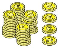 monet sterty ilustracji