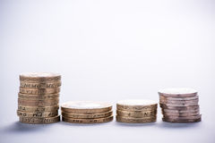 Monet sterty nad jaskrawym tłem Obraz Royalty Free