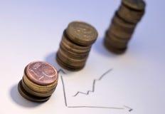 monet wierza Zdjęcia Royalty Free