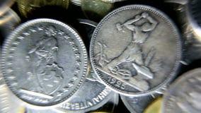 moneta video d archivio