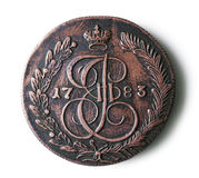Moneta antica Immagine Stock Libera da Diritti