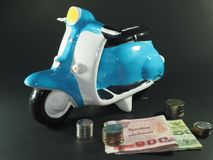 Moneta bancaria Piggy Immagini Stock Libere da Diritti