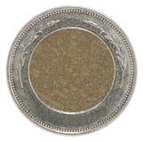 Moneta in bianco vuota Fotografia Stock Libera da Diritti