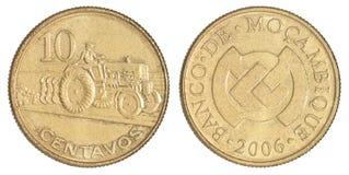 Moneta 20 centavi Fotografia Stock Libera da Diritti