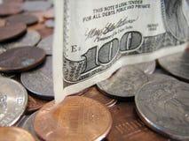 Moneta a corso legale Immagine Stock