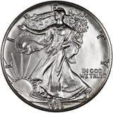 Moneta degli Stati Uniti d'America Immagini Stock