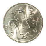 Moneta dei centesimi del Cipro Immagine Stock Libera da Diritti