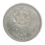 Moneta del Kazakistan della raccolta Fotografia Stock