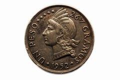 Moneta del peso dell'ONU Fotografia Stock Libera da Diritti