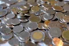Moneta della Tailandia immagini stock libere da diritti
