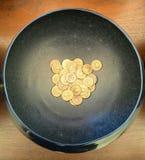 Moneta dentro Fotografia Stock Libera da Diritti