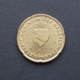 Moneta di EUR Fotografia Stock Libera da Diritti