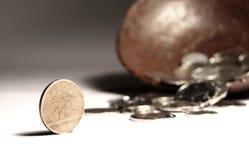 Moneta di Hong Kong Immagine Stock Libera da Diritti