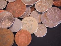 Moneta di libbra BRITANNICA Fotografie Stock