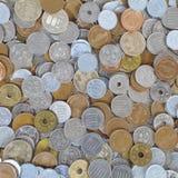 Moneta di Yen giapponesi Fotografia Stock