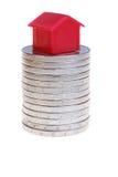 moneta dom Obrazy Royalty Free